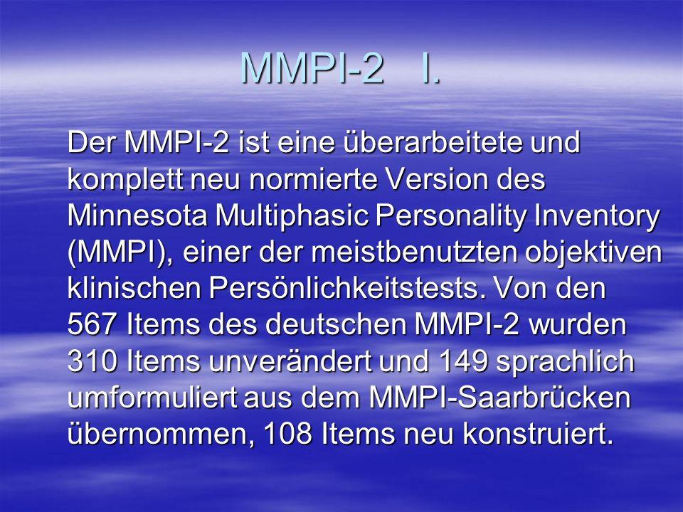 MMPI-2 I.
