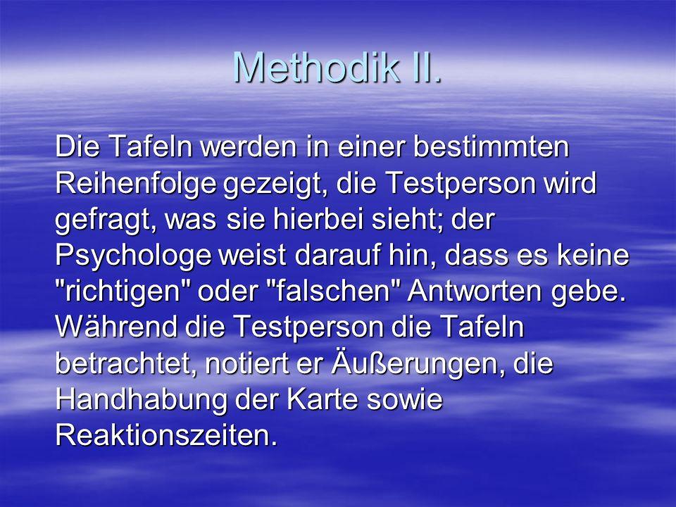 Methodik II.