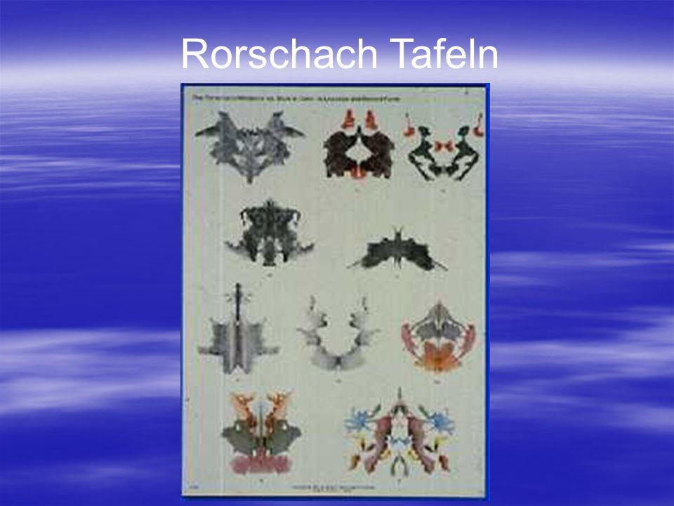 Rorschach Tafeln