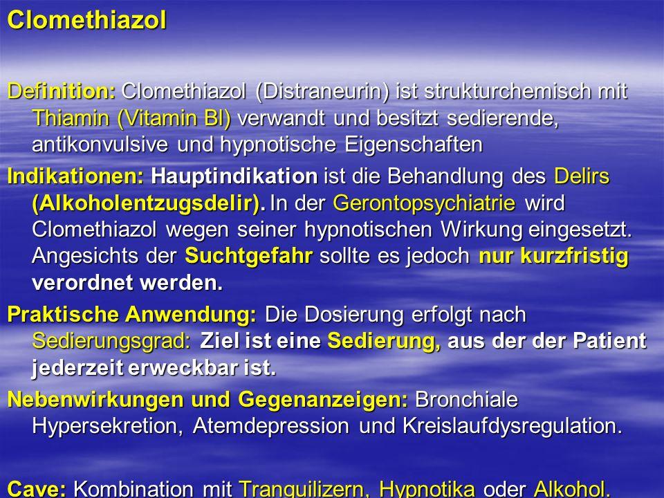 Clomethiazol