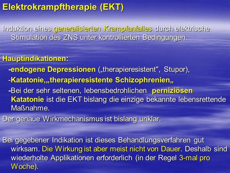 Elektrokrampftherapie (EKT)