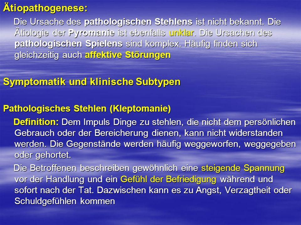 Symptomatik und klinische Subtypen