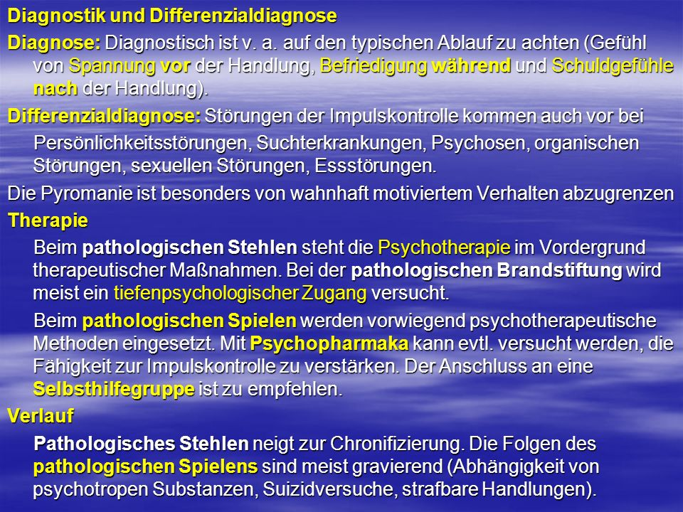 Diagnostik und Differenzialdiagnose