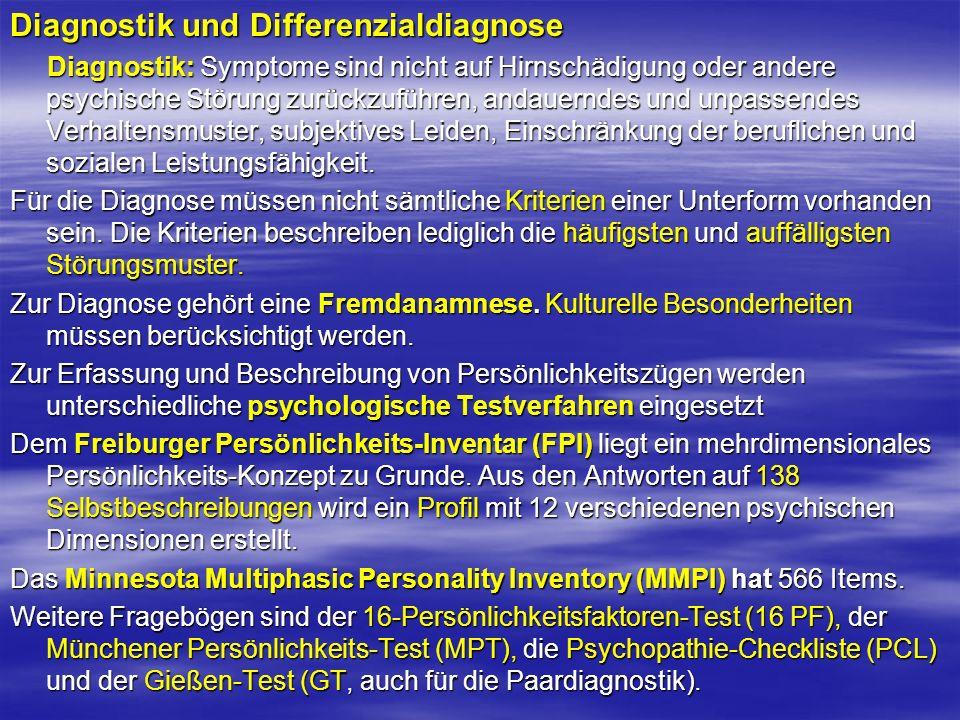 Diagnostik und Differenzialdiagnose