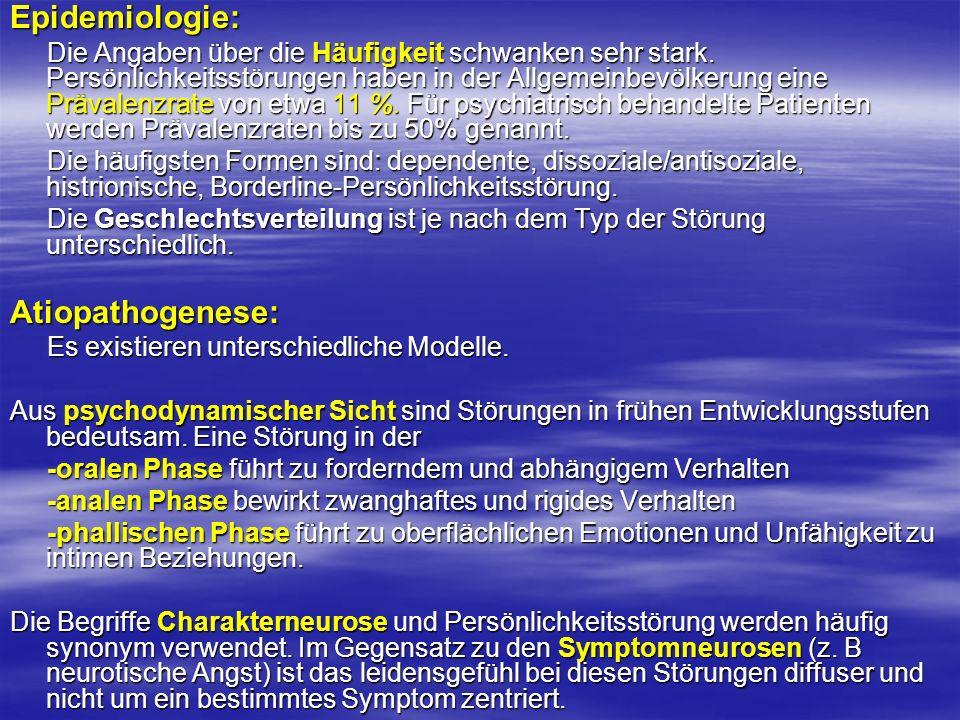 Epidemiologie: Atiopathogenese: