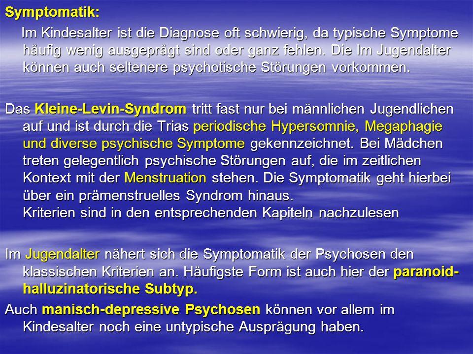 Symptomatik: