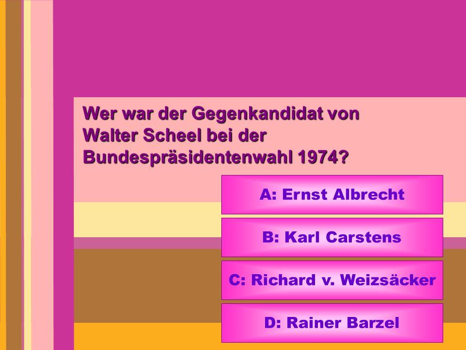 C: Richard v. Weizsäcker
