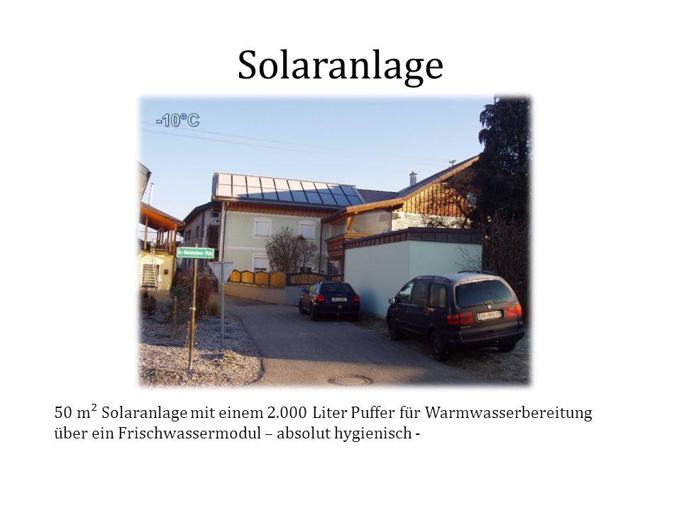 Solaranlage -10°C.