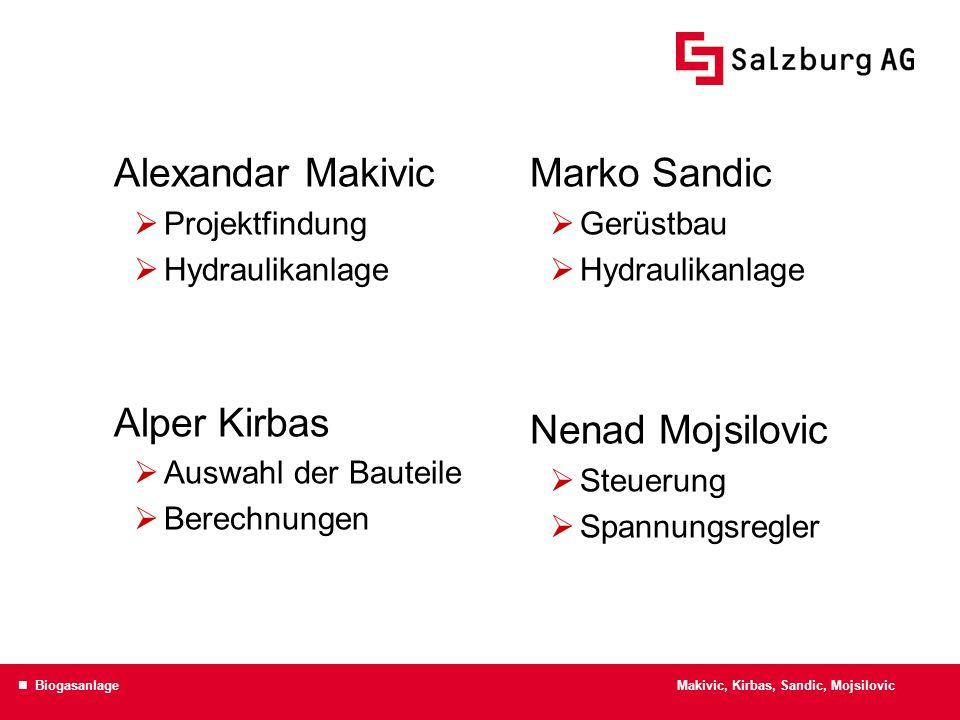 Alexandar Makivic Alper Kirbas Marko Sandic Nenad Mojsilovic