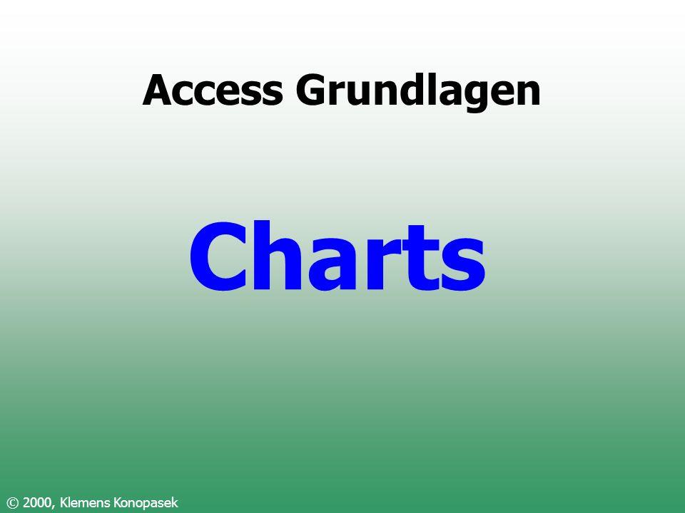Access Grundlagen Charts © 2000, Klemens Konopasek