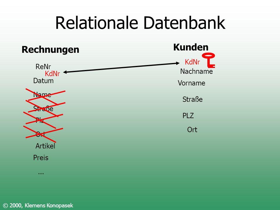 Relationale Datenbank