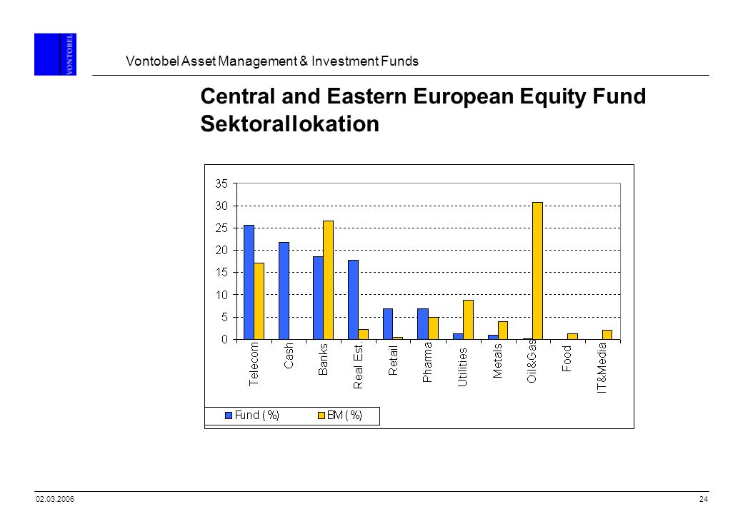 Central and Eastern European Equity Fund Sektorallokation