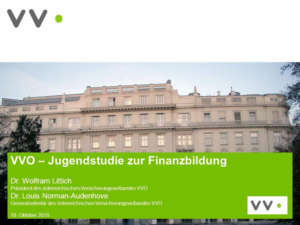 VVO – Jugendstudie zur Finanzbildung