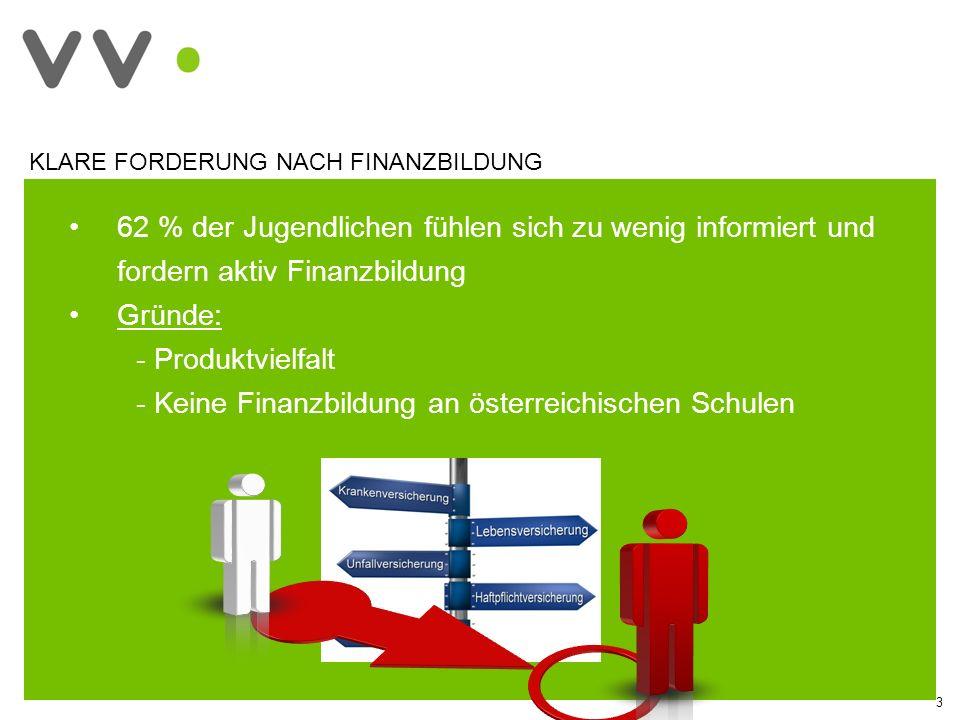 Keine Finanzbildung an österreichischen Schulen