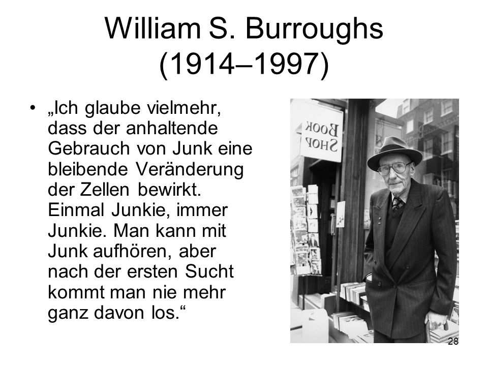 William S. Burroughs (1914–1997)
