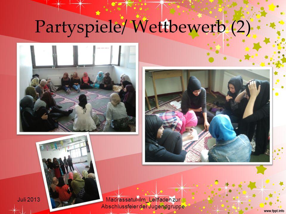 Partyspiele/ Wettbewerb (2)