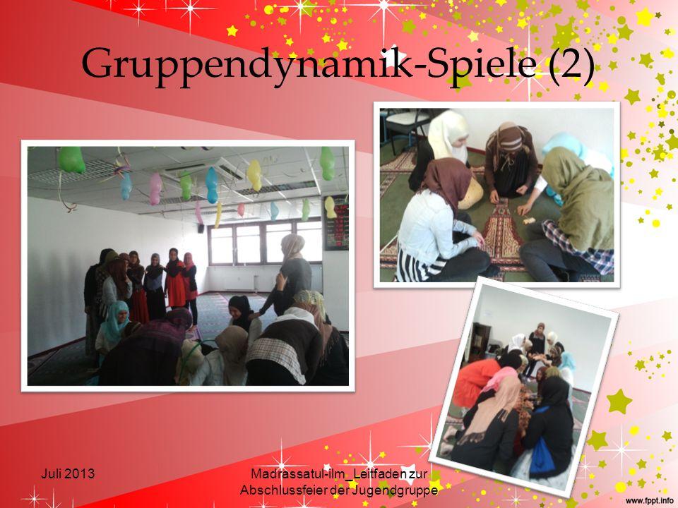 Gruppendynamik-Spiele (2)