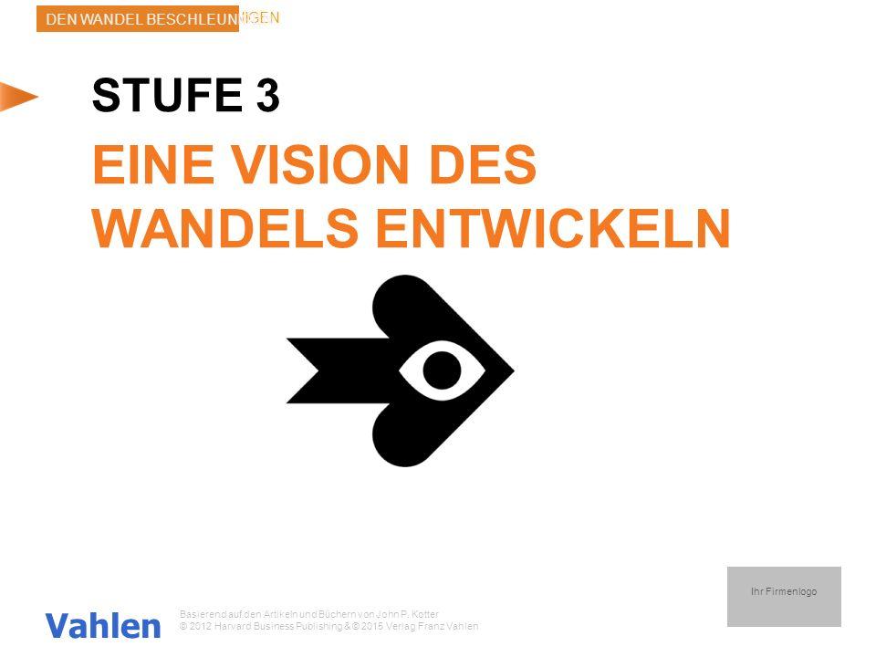EINE VISION DES WANDELS ENTWICKELN