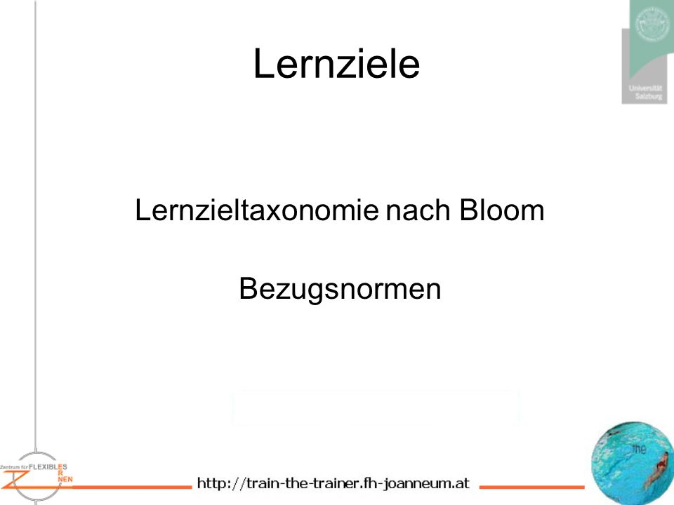 Lernzieltaxonomie nach Bloom