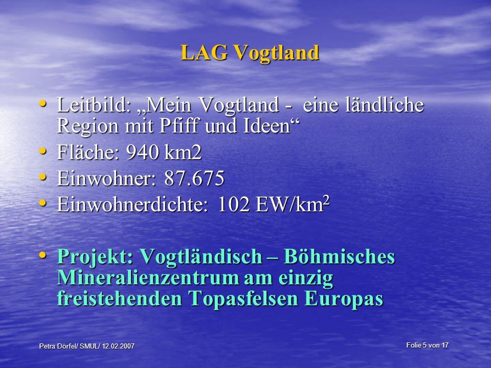 """Leitbild: """"Mein Vogtland - eine ländliche Region mit Pfiff und Ideen"""