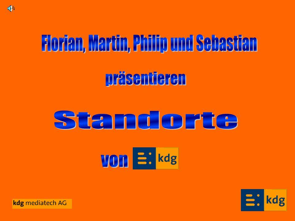 Florian, Martin, Philip und Sebastian