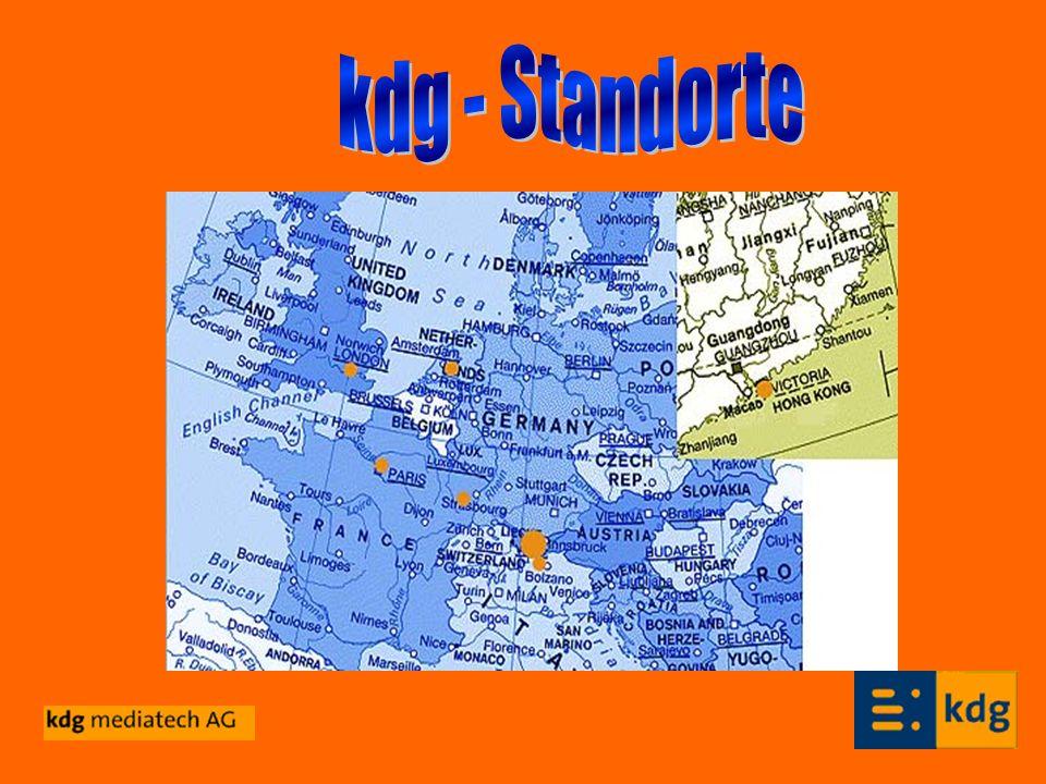 kdg - Standorte