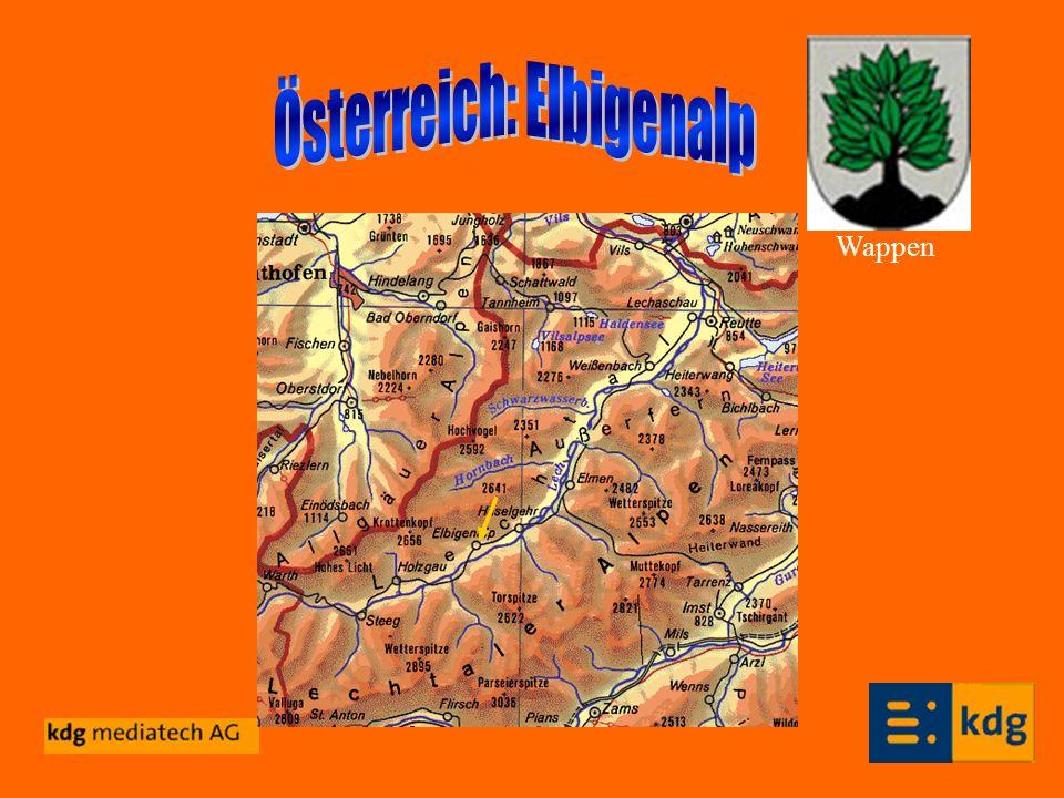 Österreich: Elbigenalp