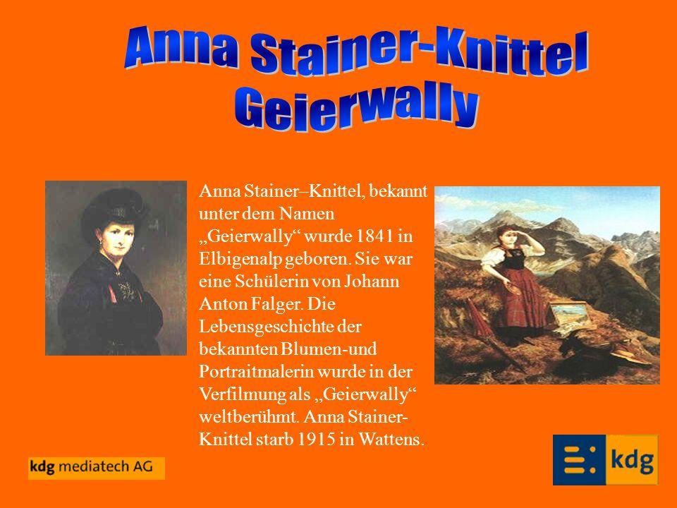 Anna Stainer-Knittel Geierwally
