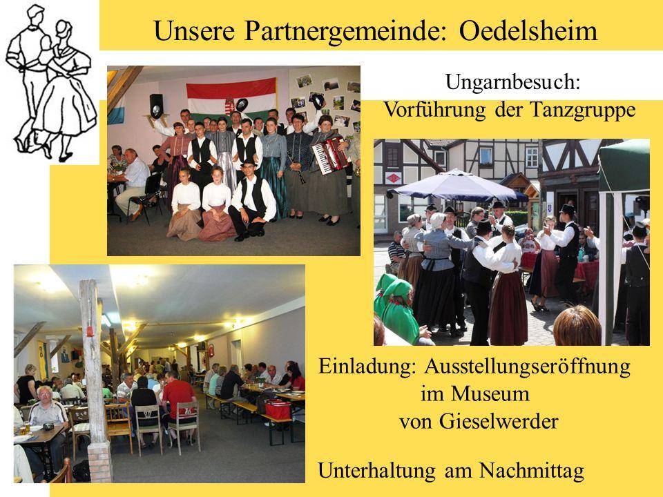 Unsere Partnergemeinde: Oedelsheim