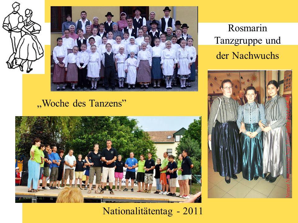 Rosmarin Tanzgruppe und der Nachwuchs