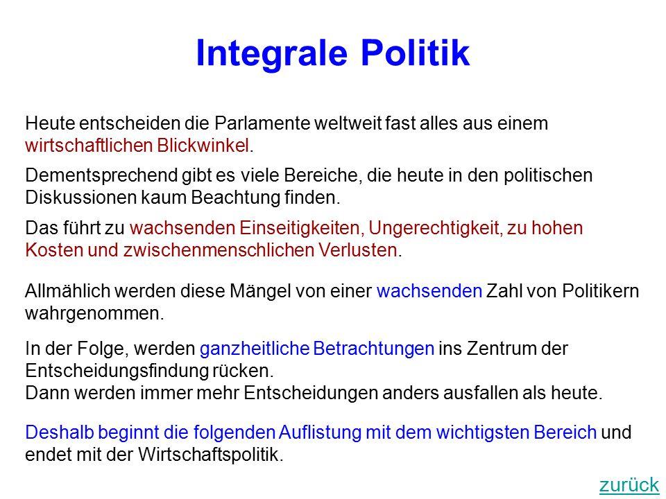 Integrale Politik zurück