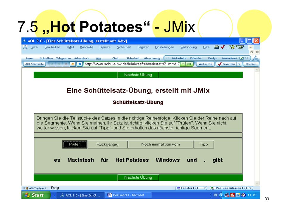 "7.5 ""Hot Potatoes - JMix"