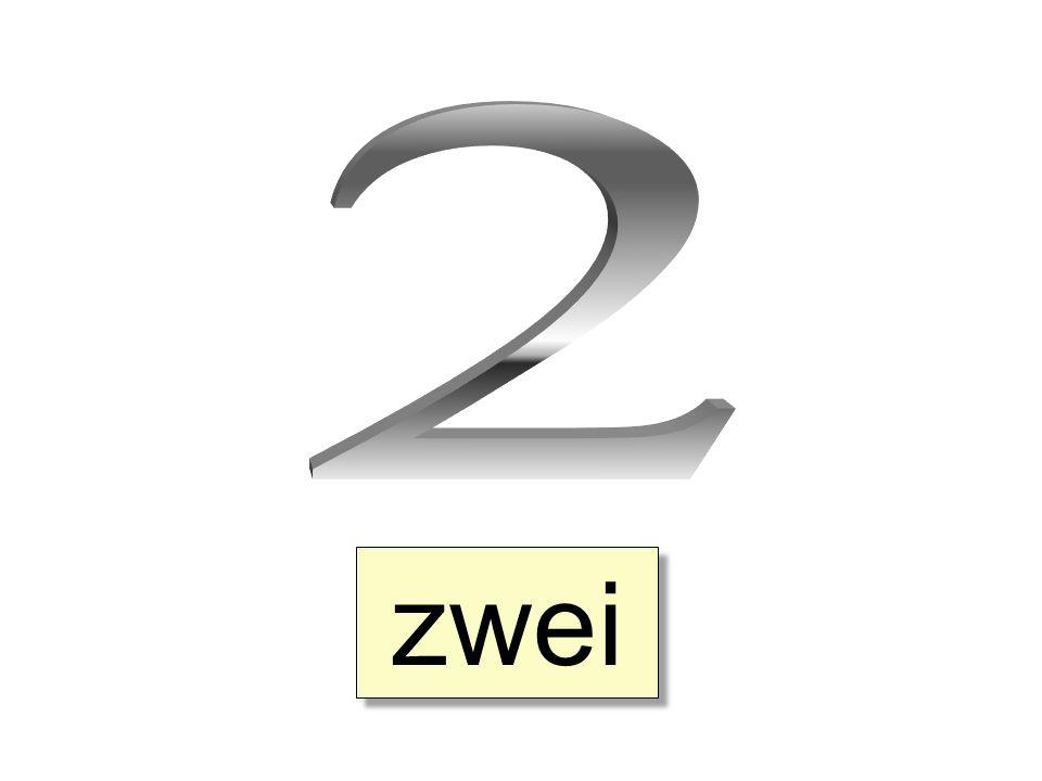 2 zwei