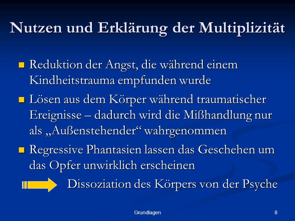 Nutzen und Erklärung der Multiplizität