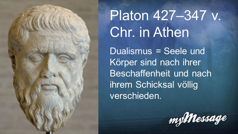 Platon Platon 427–347 v. Chr.