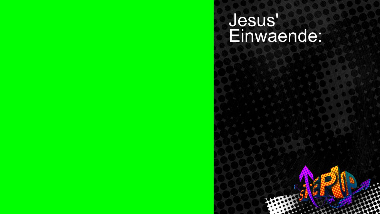 Johannes 4:5-7 1 Jesus Einwaende: