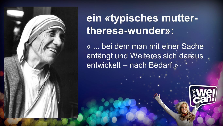 Mutter-Teresa-Wunder