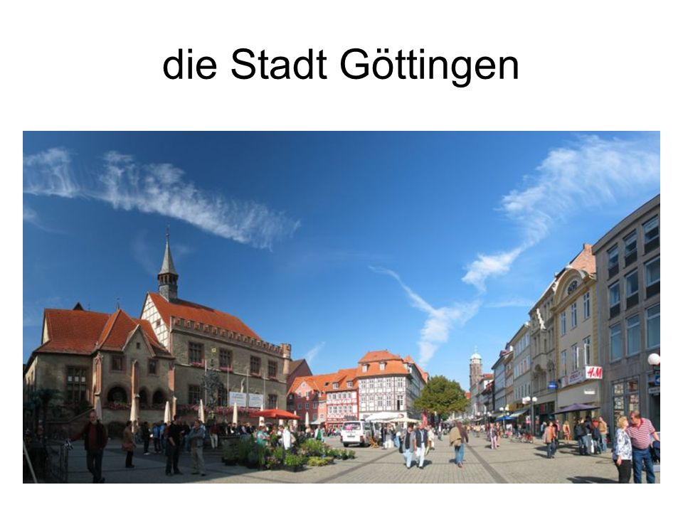 die Stadt Göttingen