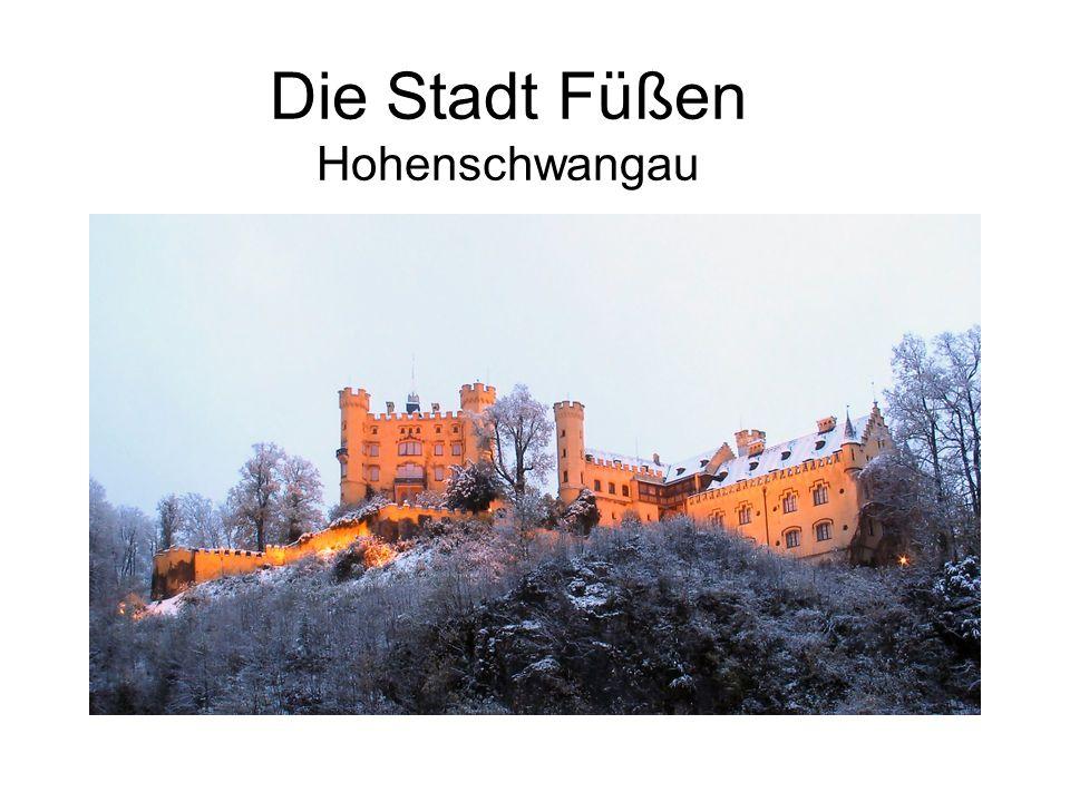 Die Stadt Füßen Hohenschwangau