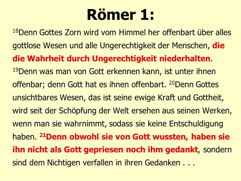 Römer 1: