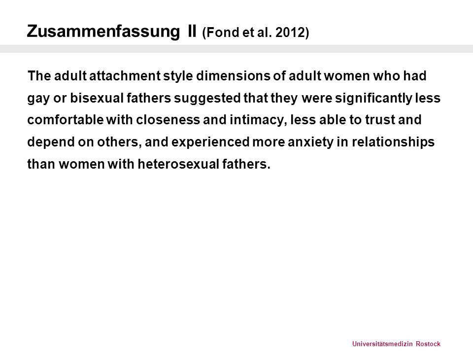 Zusammenfassung II (Fond et al. 2012)