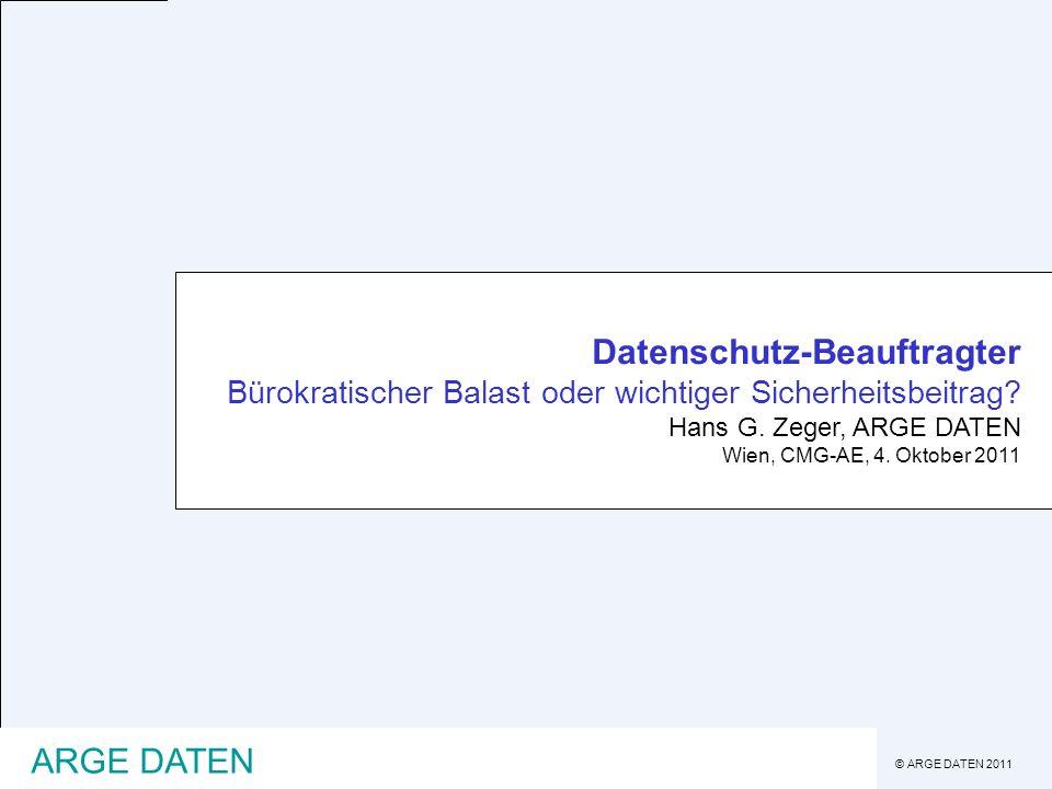 Datenschutz-Beauftragter Bürokratischer Balast oder wichtiger Sicherheitsbeitrag