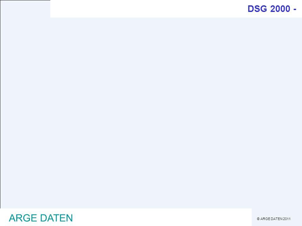 ARGE DATEN DSG 2000 - DSG 2000 §4 Z 6 Datei