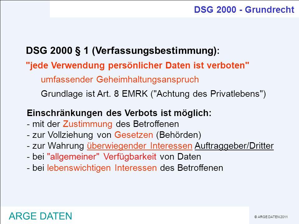 DSG 2000 § 1 (Verfassungsbestimmung):