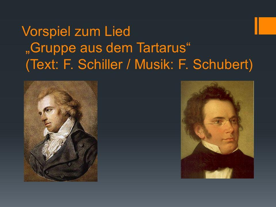 """Vorspiel zum Lied """"Gruppe aus dem Tartarus (Text: F"""