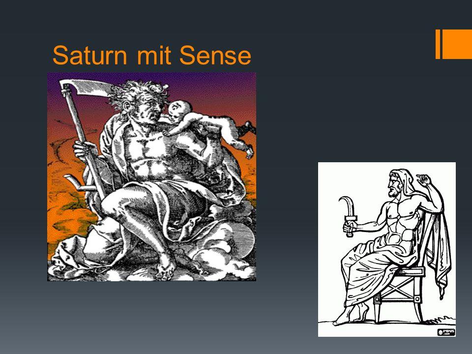 Saturn mit Sense