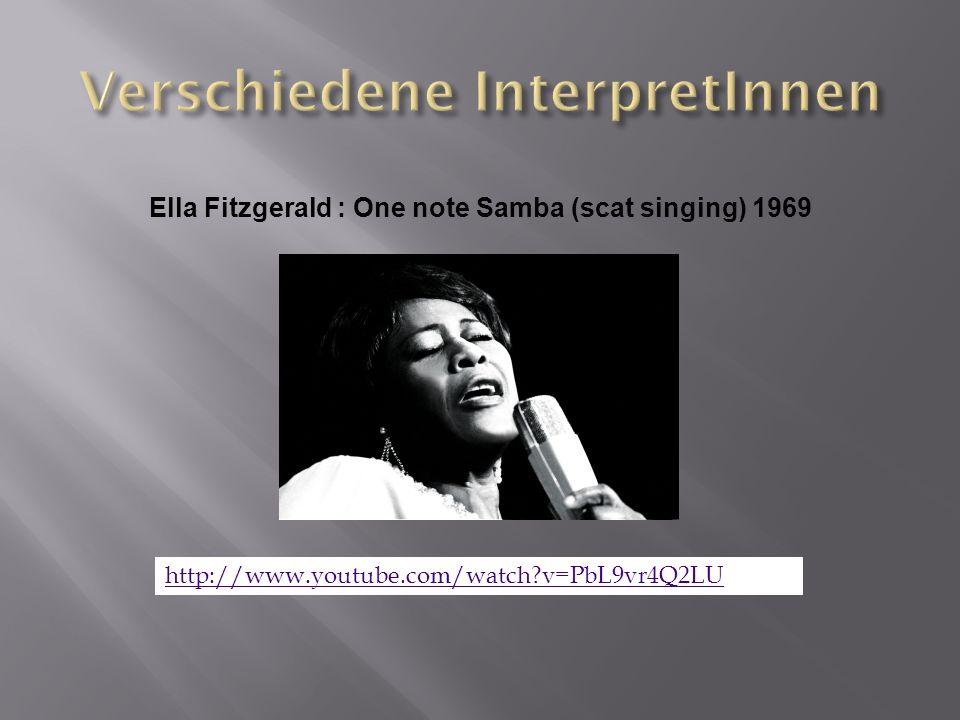 Verschiedene InterpretInnen