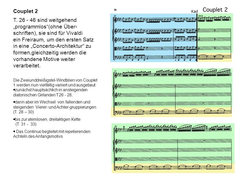 """""""programmlos (ohne Über- schriften), sie sind für Vivaldi"""
