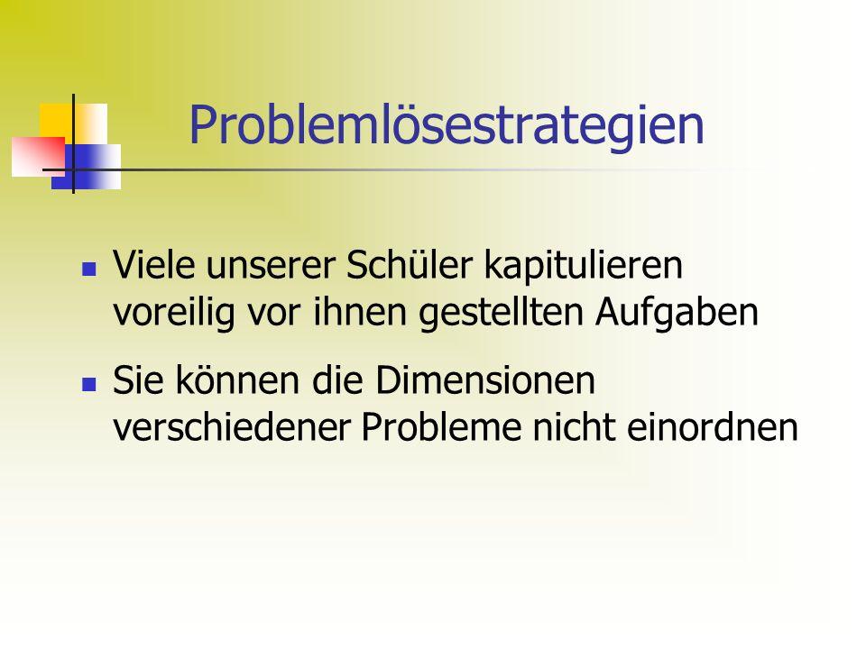 Problemlösestrategien