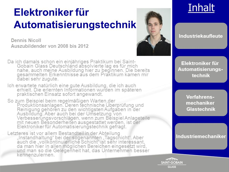 Elektroniker für Automatisierungstechnik